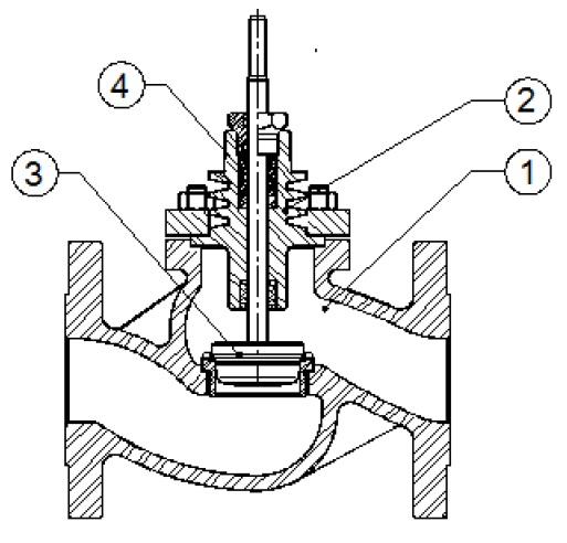 Уплотнение по седлу металл по металлу. если не оговорено. требует демонтажа клапана с трубопровода.